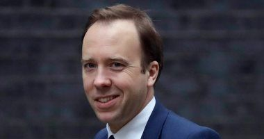 وزير الصحة البريطانى مات هانكوك