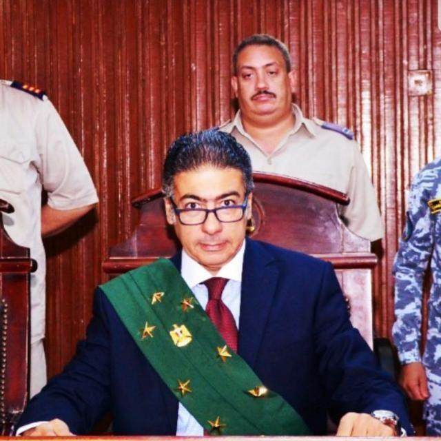 المستشار سامح عبد الحكم رئيس محكمة جنايات شبرا
