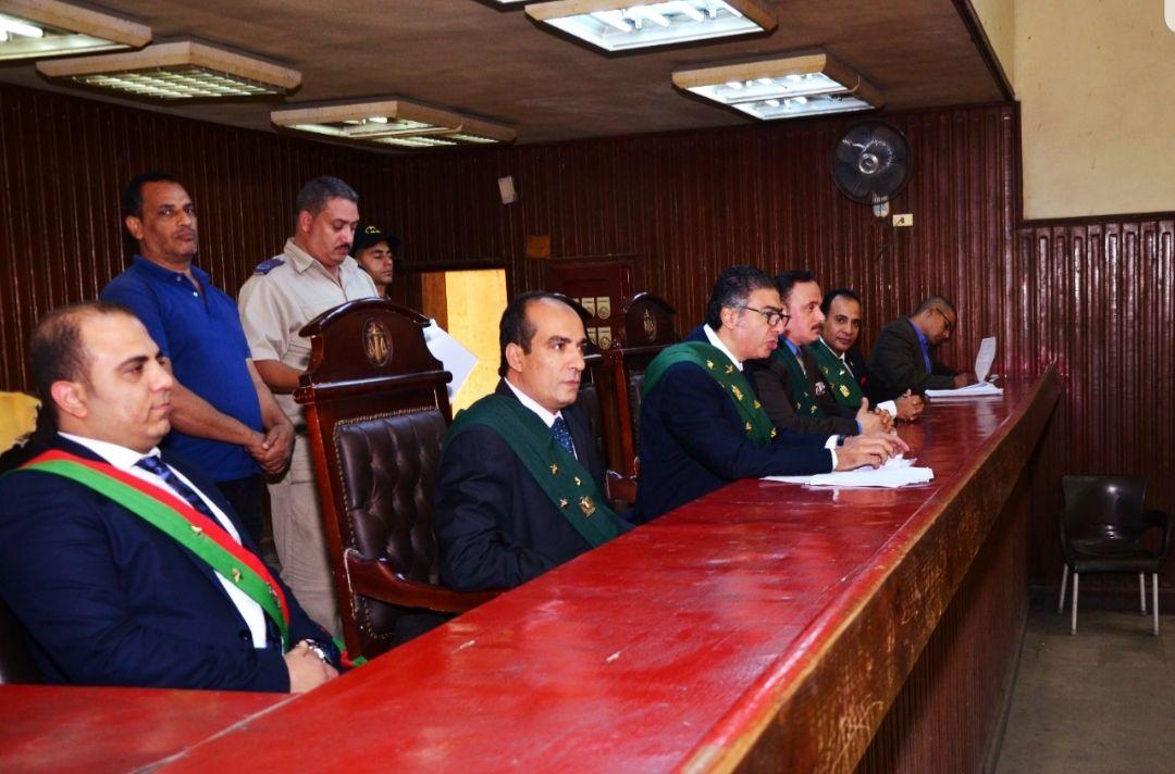 هيئة محكمة جنايات شبرا الخيمة