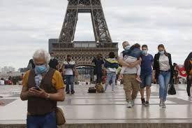 كورونا فى باريس