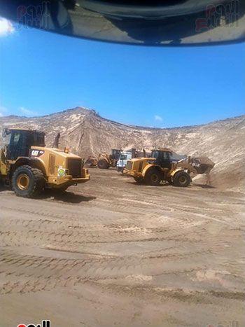 الرمال السوداء مشروع قومى على أرض كفر الشيخ (16)