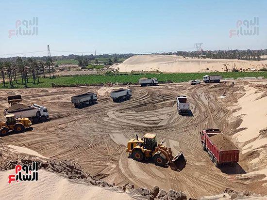 الرمال السوداء مشروع قومى على أرض كفر الشيخ (14)