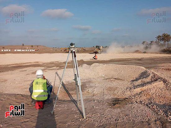 الرمال السوداء مشروع قومى على أرض كفر الشيخ (12)