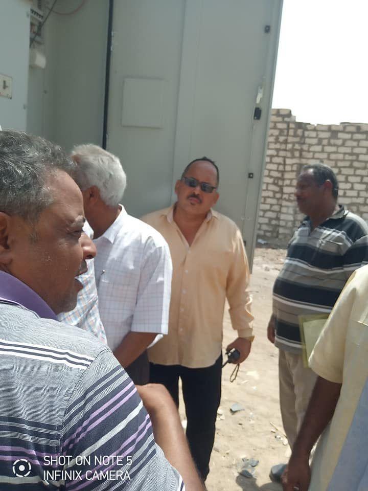 لجنة المتابعه بحافظة اسوان تتفقد قري مبادرة حياة كريمة بكوم امبو (6)
