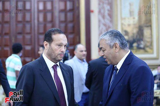 وصول محمد حلاوة عضو مجلس الشيوخ (11)