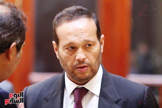 وصول محمد حلاوة عضو مجلس الشيوخ (6)