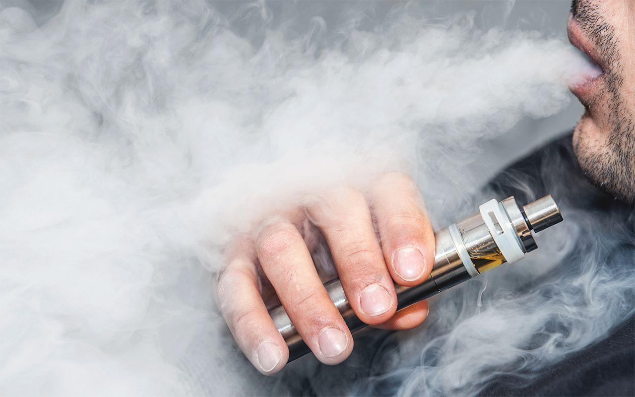دخان السجائر الالكترونية يقتلك