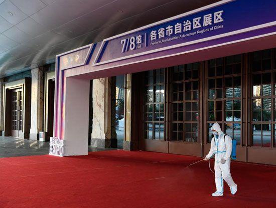 ختام معرض المنتجات الصينية (1)
