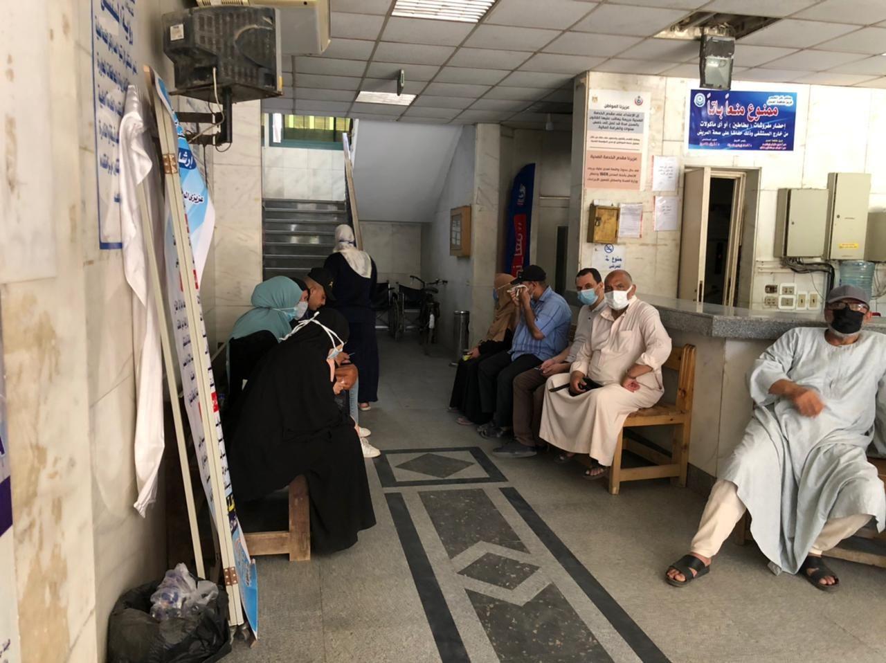 ممرات خاصة لاستقبال المواطنين لتلقي لقاح كورونا فى الغربية (1)