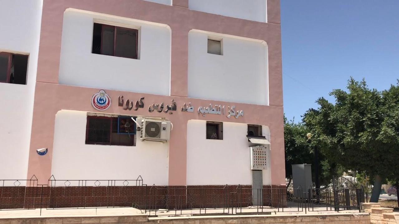 2093  من أهالى شمال سيناء يتلقون التطعيم (2)