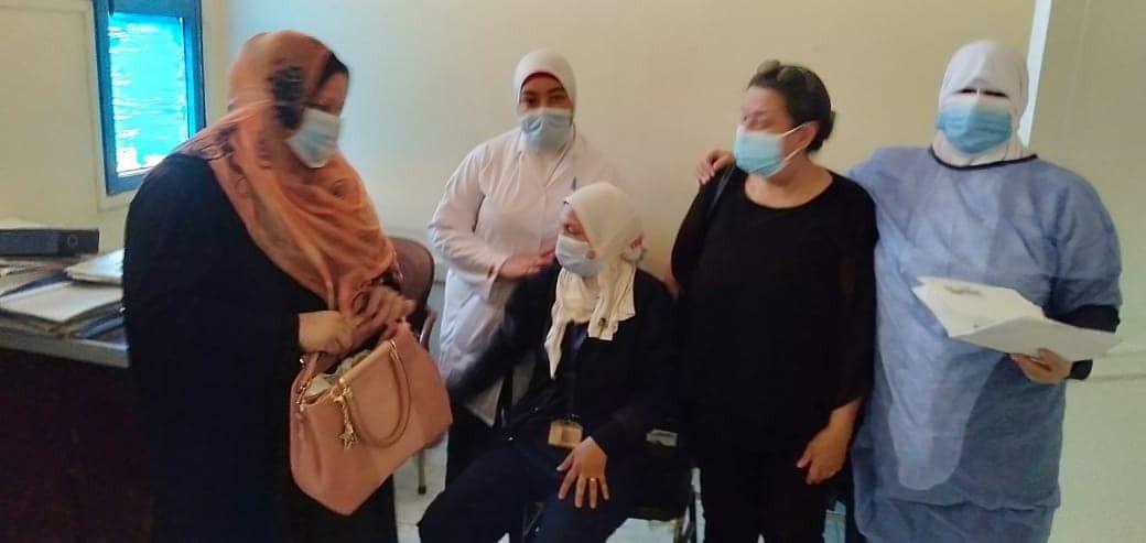 16790  مواطنًا يتلقون تطعيم لقاح كورونا فى القليوبية (1)