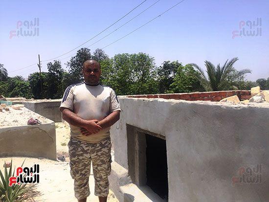 محمد الشرقاوى منقذ طفلة مقابر الإسماعيلية (1)