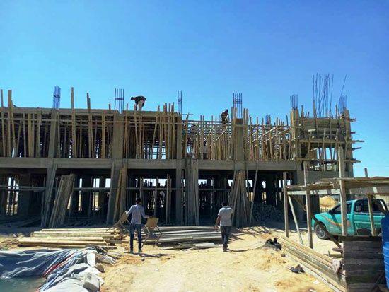 بناء مدرسة