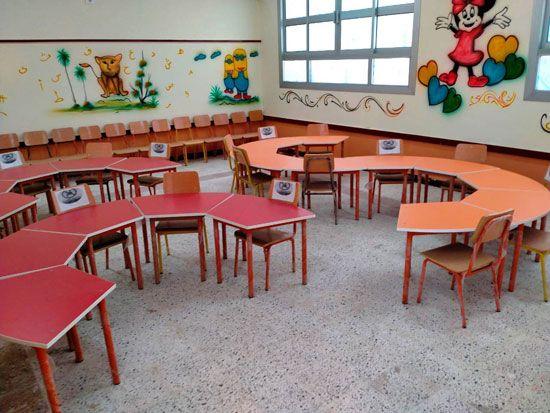قاعات-مدارس-الغربية