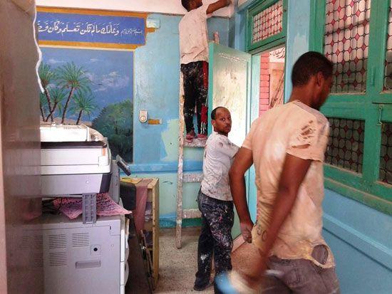 تطوير-وصيانة-المدارس-فى-الاقصر