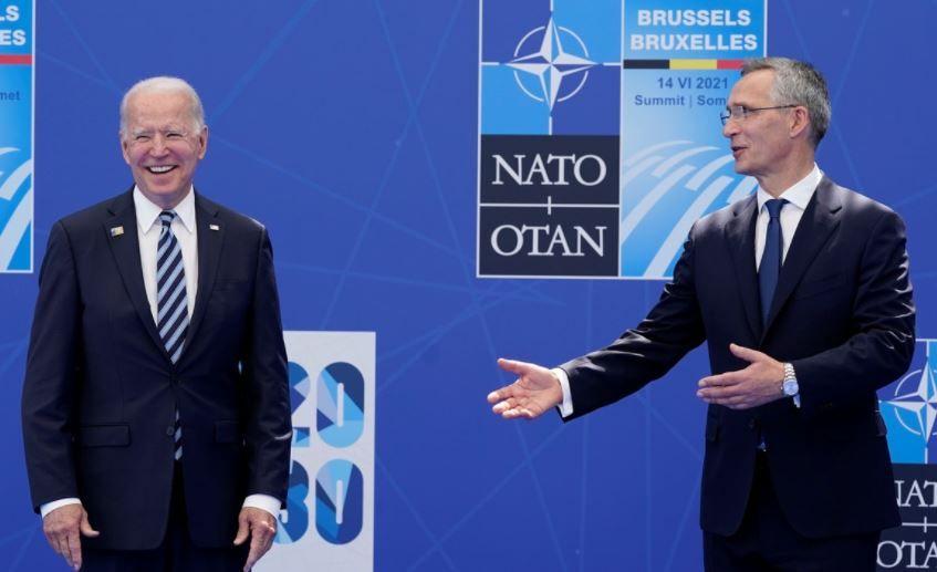 بايدن وأمين عام الناتو