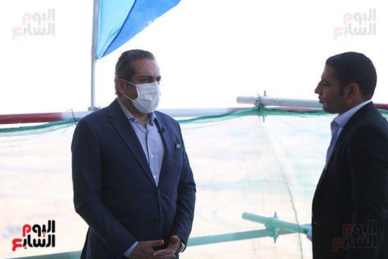 الزميل-أحمد-حسن-والمهندس-خالد-عباس-نائب-وزير-الإسكان-للمشروعات-القومية،