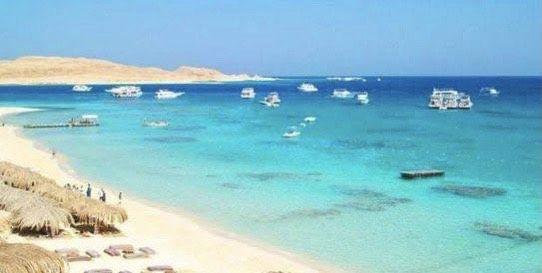 اللنشات السياحية بجزيرة الجفتون