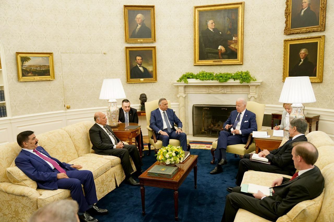 لقاء أمريكى عراقى فى البيت الأبيض