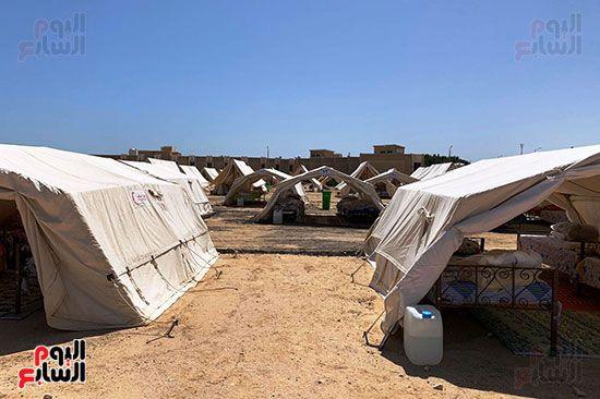 مخيمات تدريب الأزمات والطوارئ