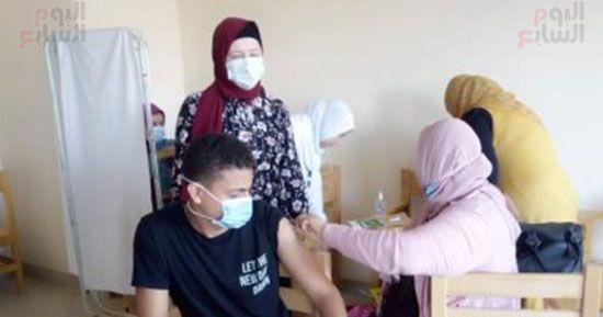 تطعيم-طلاب-المنيا