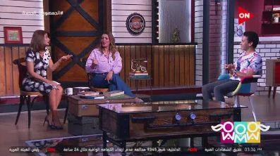 شيرى أبو الحسن وهيدى كرم وسامح حسين