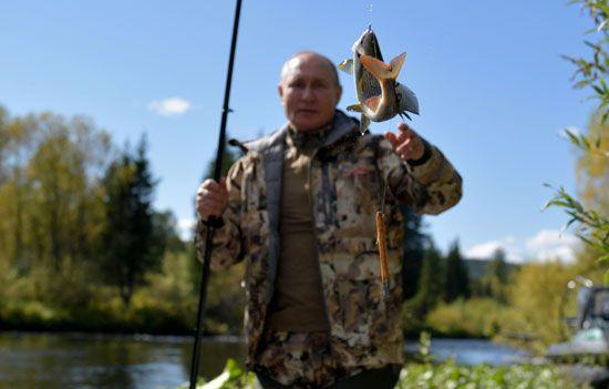 رحلة صيد الأسماك