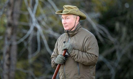 رحلة بوتين الاستكشافية