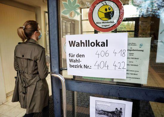 استطلاعات الرأي في الانتخابات العامة الألمانية