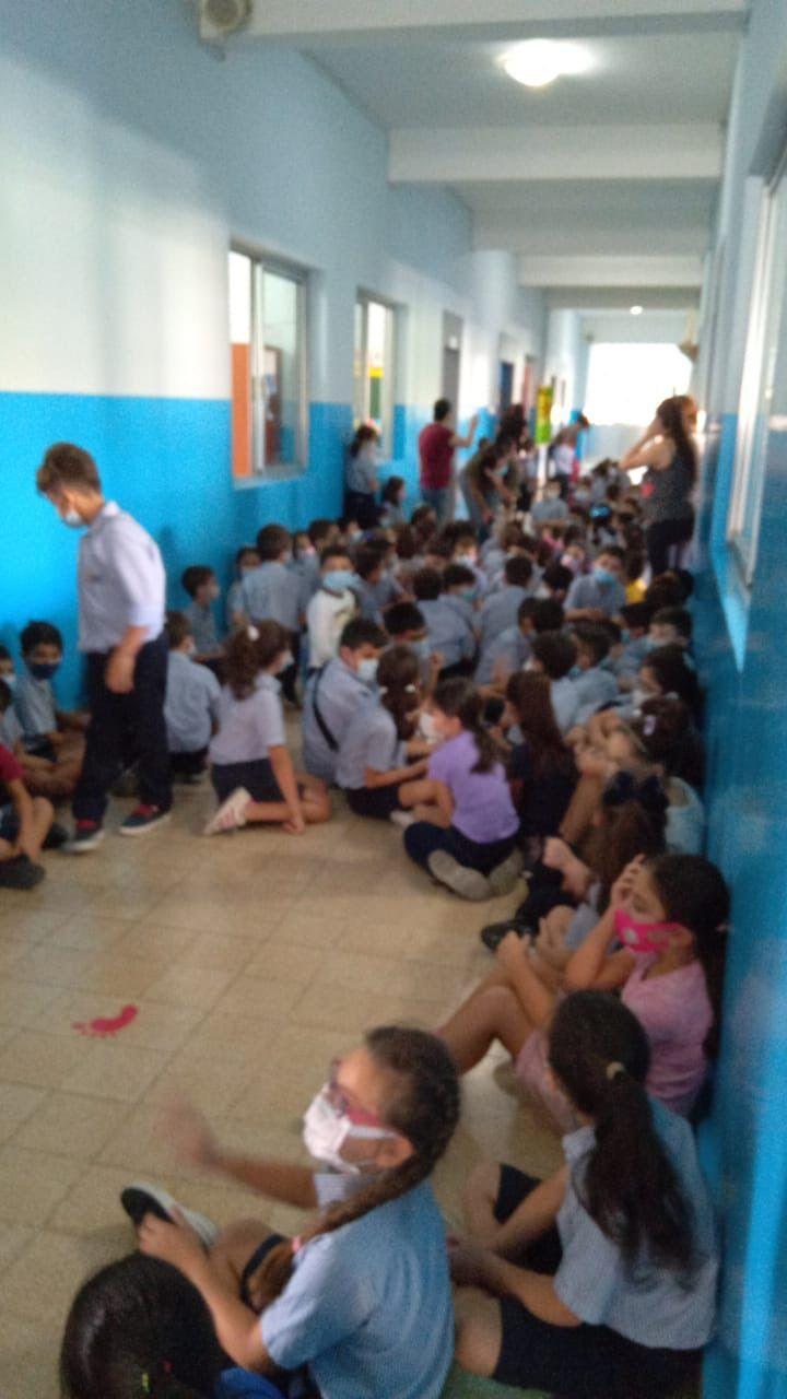رعب أطفال المدارس