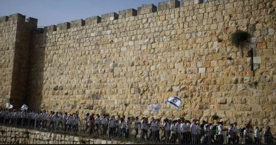 مسيرة لإسرائليين