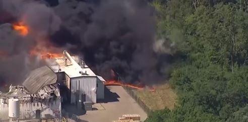 حريق المصنع