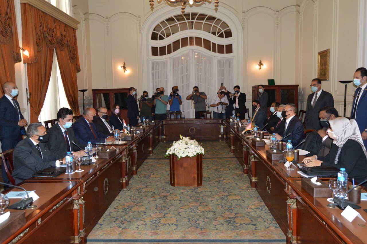 اجتماعات مصرية ماليزية فى قصر التحرير