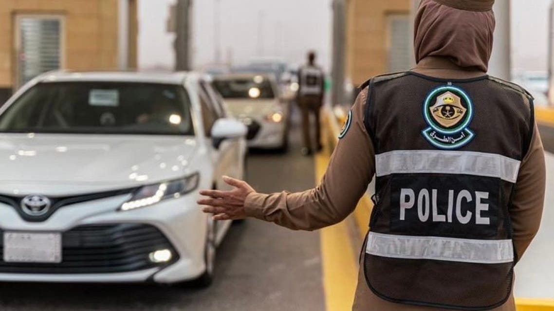 سعودية ضمن فرق أمن الطرق