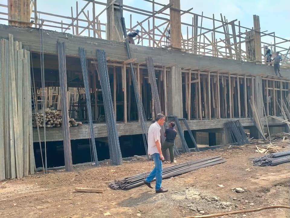 أعمال إنشاء المدارس الجديدة
