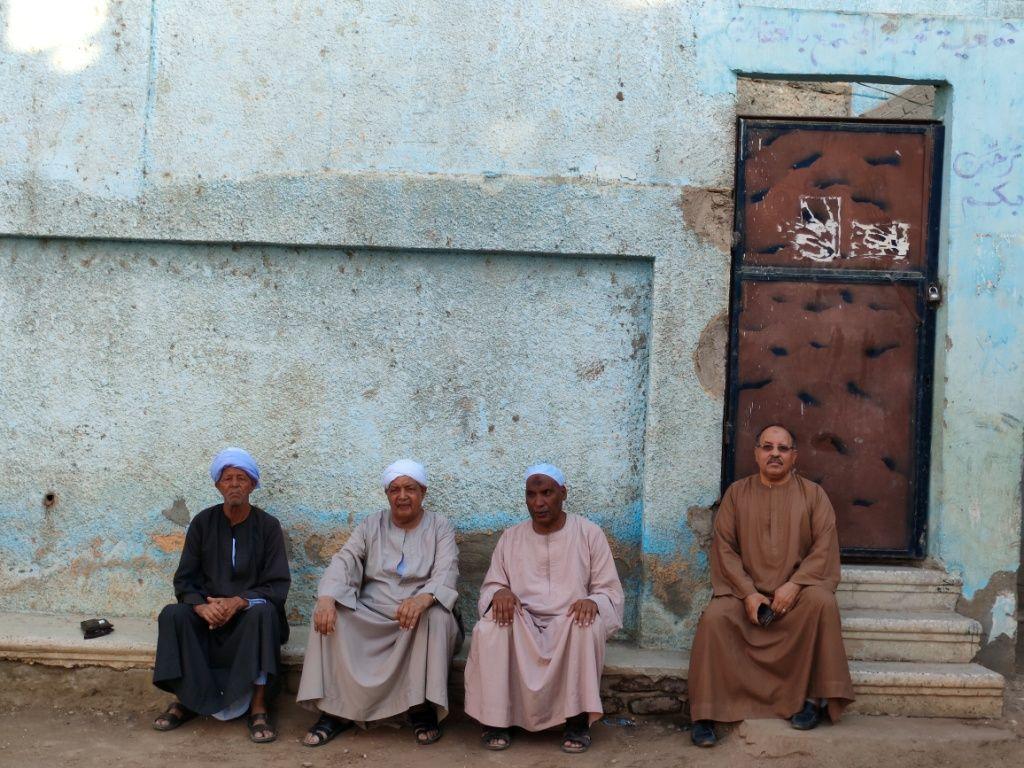 لقاء اليوم السابع مع كبار قرية العقاربة