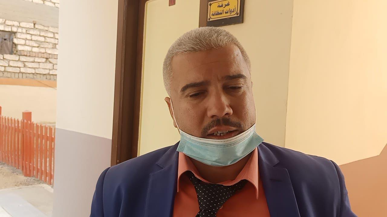 مصطفى فؤاد من اهالى قرية البرانقة