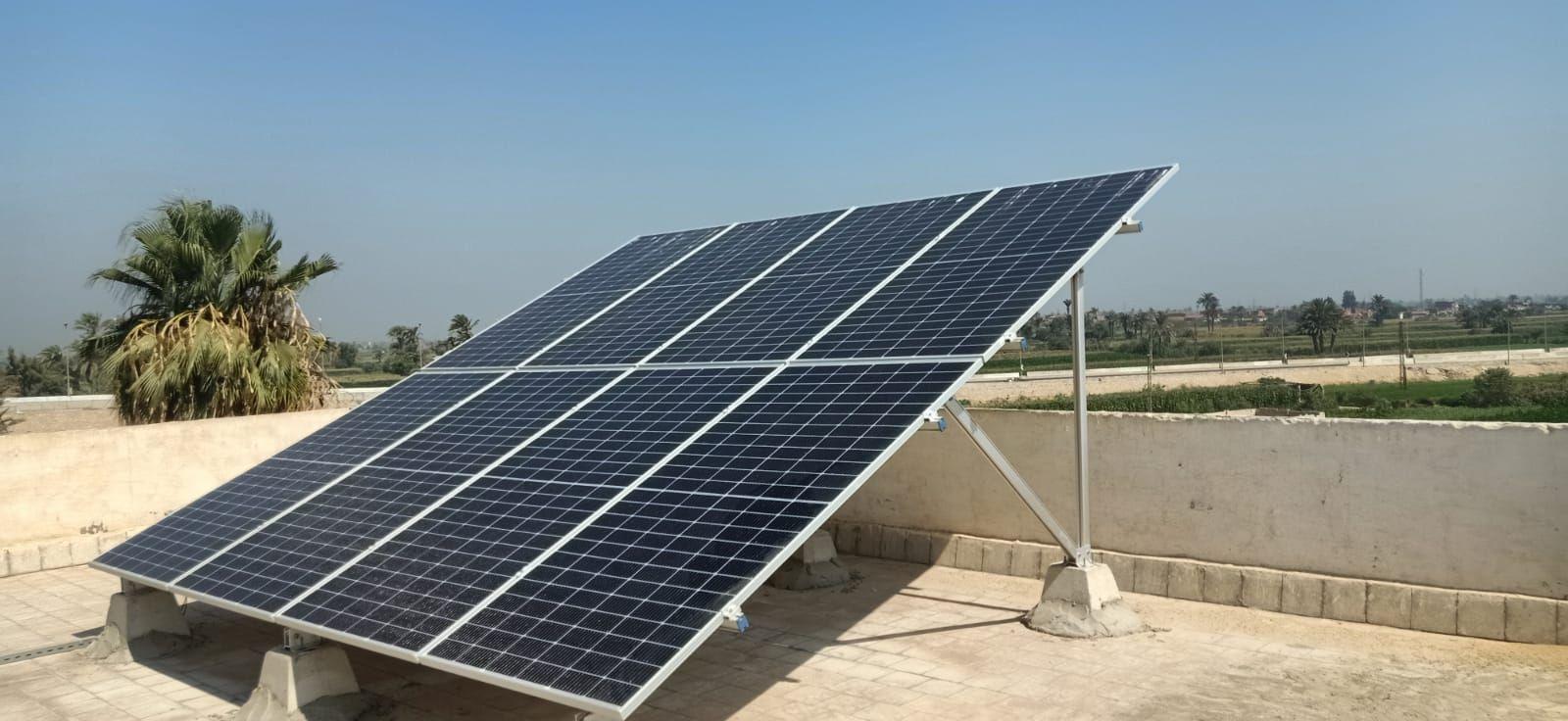 انشاء 6 محطات طاقة شمسية بمركز ببا