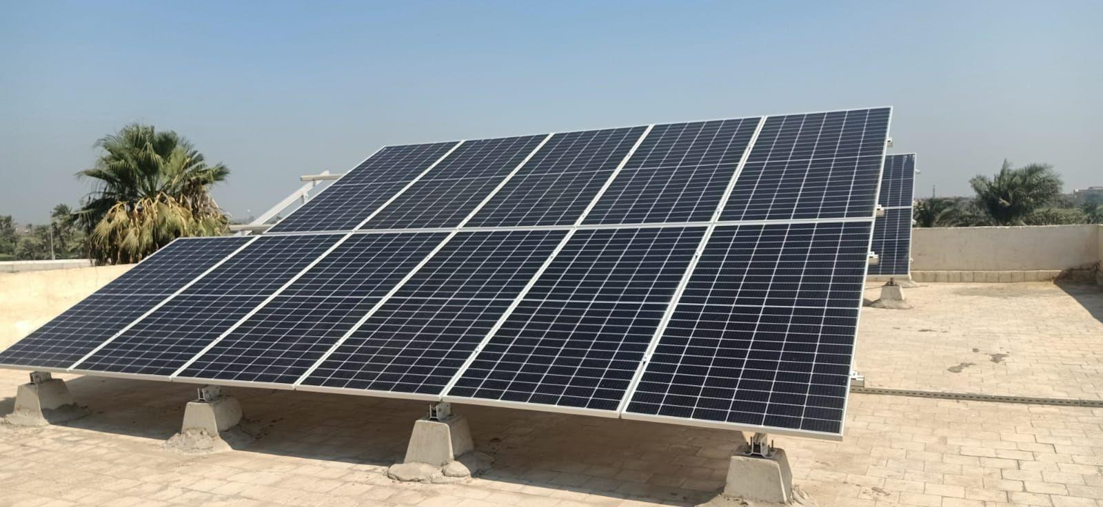 محطات طاقة شمسية بدوواين المحافظات