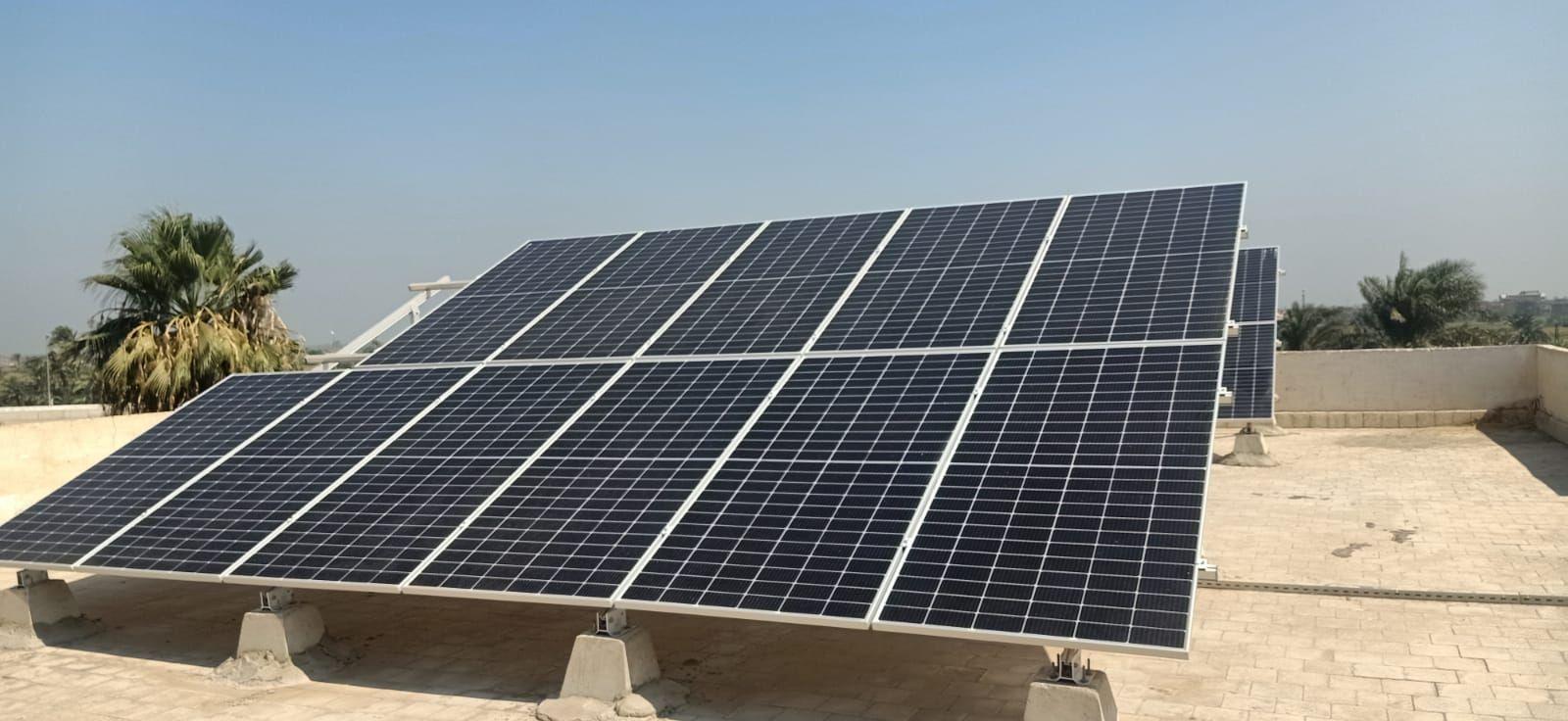 محطة الطاقة الشمسية بطنسا