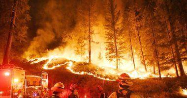 حرائق غابات لبنان
