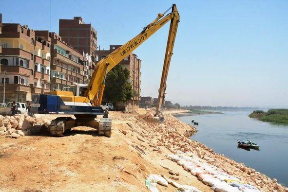 اعمال تدبيش نهر النيل باخميم