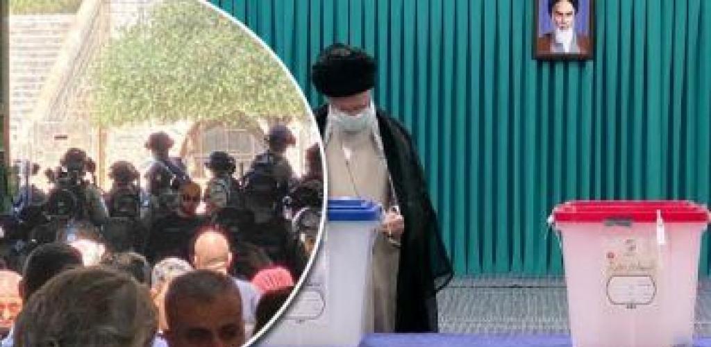 """العالم هذا المساء.. الاحتلال الإسرائيلى يقتحم المسجد الأقصى ويطلق الرصاص صوب المصلين.. الإيرانيون يواصلون الإدلاء بأصواتهم في الانتخابات الرئاسية.. """"جوتيريس"""" أمينا عاما للأمم المتحدة لولاية ثانية.. صور"""